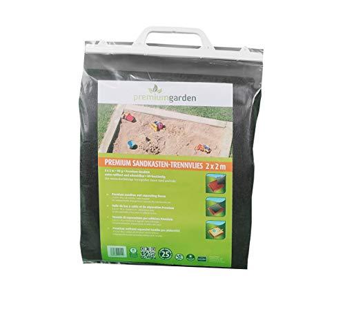 Premium Sandkastenvlies 2 x 2m, 90g/m², zuverlässiger Unkrautstopp unter dem Sandkasten Ihres Kindes