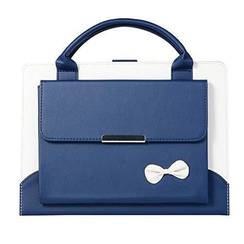 Buy iPad 7th wallet Case, SAMMID Portable Handbag iPad Wallet Flip Case PU Leather Magnetic Stand Co...