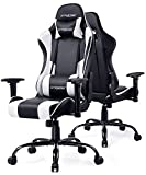 GTRACING Gaming Chair PU Leather High Back Racing Style Computer PC Chair Ergonomic
