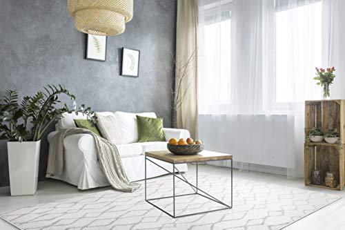andiamo Webteppich Bolonia Ornament-Muster modern Öko-Tex 100 Teppich, Polypropylen, Ornmanet grau, 200x285 cm