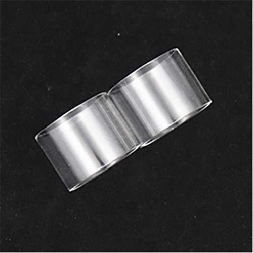 Qingtian-ceg Tubo de 2 Piezas de sustitución de Vidrio Tanque de Ajuste for OBS Crius Fit Plus for RDTA RTA en Forma for Crío II Dual Fit For Single Coil Vidrio Pyrex