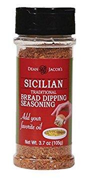 Dean Jacob's Sicilian Bread Dipping Seasoning ~ 3.7 oz.