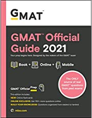 GMAT Official Guide 2021, Book + Online Question Bank