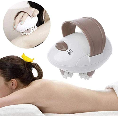 3D Corps Roller Massager Body Shaper massant électrique, Perte élimination de la Cellulite de Graisse Minceur Poids Fat Burning Portable Body Massager,Stecker 【EU】