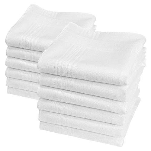 12 pañuelos blancos - Modelo