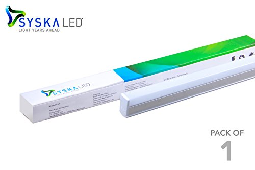 Syska SSK-SQ-2201-22W-3IN-1 22 Watts 3 in 1 T5 LED Tube Light - Changes in 3 Colours on Switching On & Off