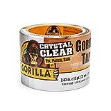 Gorilla クリスタルクリアダクトテープ タフ&ワイド、2.88インチ x 15ヤード (1パック)