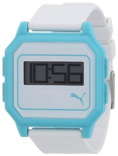 Puma PU910951008 - Reloj de Cuarzo para Mujeres, Color Blanco