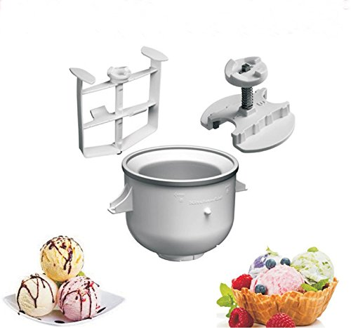 KitchenAid Eismaschine Originalzubehör 5KICA0WH