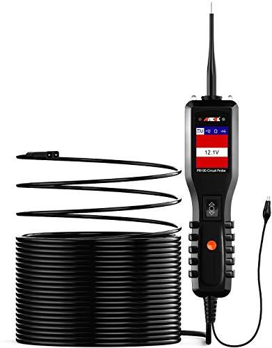 ANCEL PB100 Kit Sonda de Probador de Circuito Automotriz Herramienta de Diagnóstico Voltímetro Digital para Automóvil Energía Eléctrica Multímetro Diodo Voltaje AC/DC Detector de Resistencia Actual