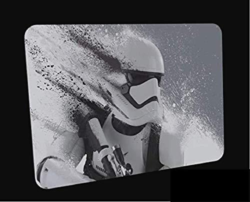Clapper Alfombrilla de Ratón de Juego- Star Wars Stormtroopers - Suave extendido Agua Resistente Tela de Superficie, Base de Agarre de Goma Antideslizante, Se Adapta a Todos los Tipos de ratón.