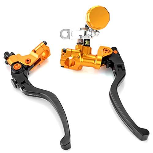 Motocicleta Embrague hidráulico de Palanca de Cilindro Maestro de Bomba de Freno de Motocicleta de 22mm para H&Onda para Y&amaha Embrague (Color : A)