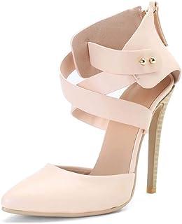 Super High Heel Oversized Sandals Women's Shoes,Pink,35