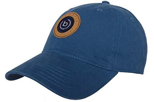 Bugatti Basecap Cap Front Big Sign Logo We Are Europe Baseballcap Baumwollcap Jeansblau B763 (Gr. 59/L, 27 - Jeansblau)