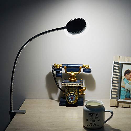 NC56 LED Augenschutz Tischlampe Hoch Dimmen Mit Metall Tischlampe SchüLer Lernen Lesen Tischlampe 360 ° Drehung Intelligente Steuerung,150 * 150 * 500