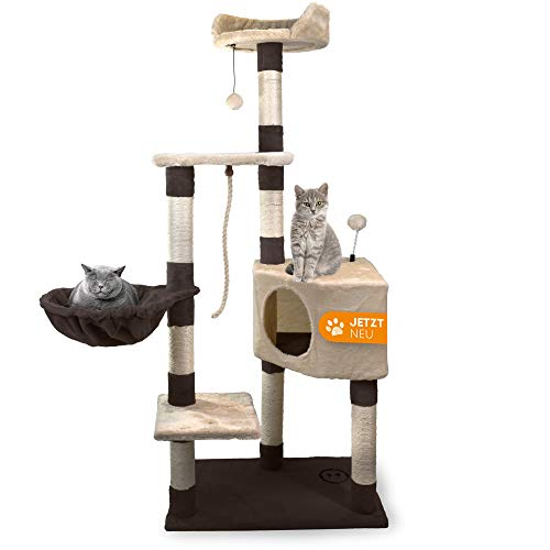 Pet Items Plus + Árbol para gatos, Rascador de gatos (marron-beige)