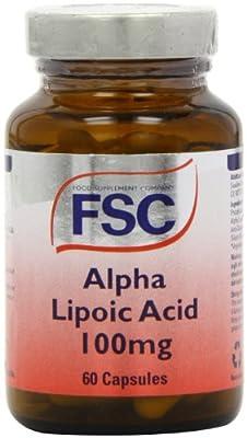 FSC 100mg Alpha Lipoic Acid - Pack of 60 Capsules