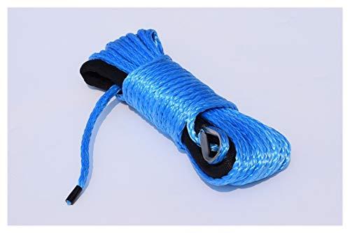 Zhaolan-Digital Tester Blaue 6mm * 15m Elektrische Seilwinde, Winklabel, Synthetisches Windeseil Autozubehör Autoteile