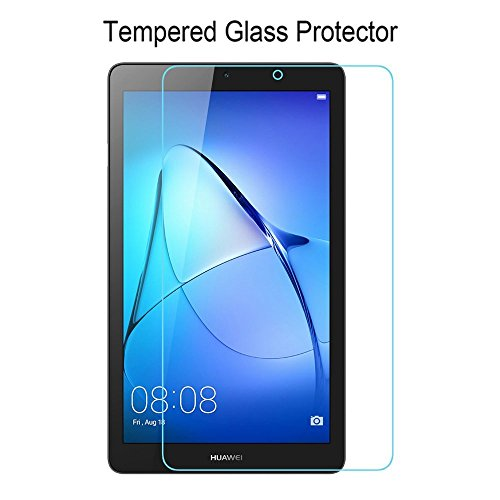 [2 Stück] Huawei MediaPad T3 7.0 Panzerglas Schutzfolie Glas Folie Panzerfolie for Huawei MediaPad T3 7.0 Displayfolie - 9H Hardness aus gehärtetem Glas - 5