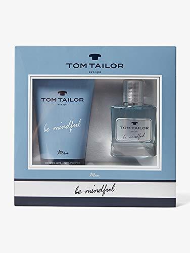 Tom Tailor Geschenkset Be Mindful Men 30ml EDT und 150ml Duschgel