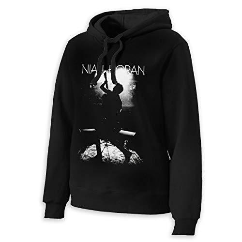 Niall Horan Hoodies Womens Hoodie Sweater Classic Long Sleeve Tops Hooded Sweatshirts S Black