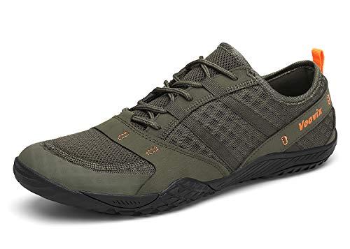 Zapatilla Minimalista De Barefoot Trail Running Unisex Verde47