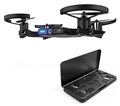 AEE Pocket Selfie Drone, Mini Drones with Camera, Foldable Propellers and Face Tracking Technology. Gesture Control Quadcopter Drones for Beginner and Adults,Flight Control via App