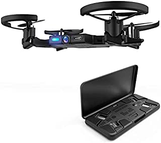 AEE Pocket Selfie Drone, WiFi FPV Mini Drones with Camera Live Video, Foldable Propellers and Face Tracking Technology. Gesture Control Quadcopter Drones for Beginner and Adults,Flight Control via App