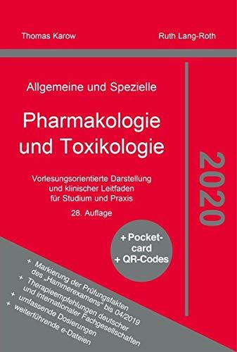 Pharmakologie und Toxikologie 2020 Thomas Karow