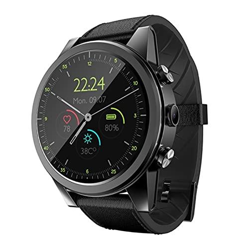 KKZ X360 Luxury 4G Smart Gestore da Uomo Android 3 GB + 32GB IP67 Impermeabile 1,6 Pollici Screen Amoled Schermo AMOLED 600 mAh Battery Smart Watch,A