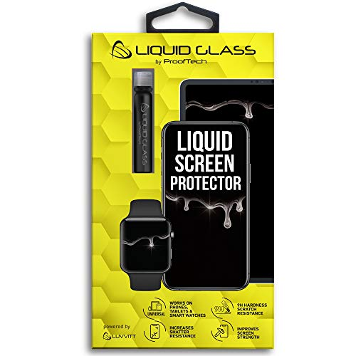 Liquid Glass Screen Protector for Up to 4 Devices | Universal for All Smartphones Tablets Smart Watches