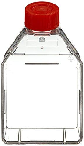 Neolab C 8100 Zellkulturflaschen Schräghals - Capuchón con ventilación (25 pulgadas, cuadrado, 65 ml, 200 unidades)