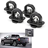 Tie Down Anchors 4Pcs Truck Bed Side Wall Anchor fit for 07-21 Chevy Silverado/GMC Sierra,15-21 Chevy Colorado/GMC Canyon DZ97903
