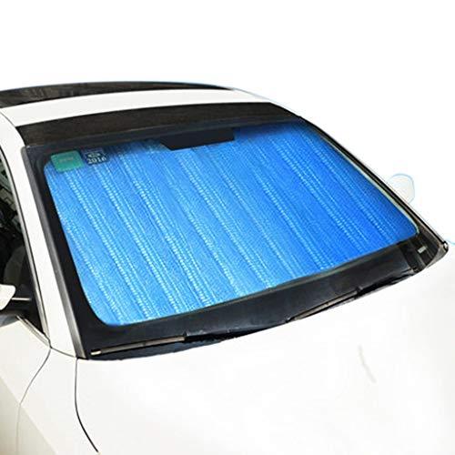 C-J-Xin Summer Sunshade, Fold Silver Front Windschutzscheibe Multifunktions-Sonnenblende Sonnenschutz wasserdicht Anti-UV-Sun Block 70-90CM Auto-Sonnenschutz (Size : 150 * 90CM)
