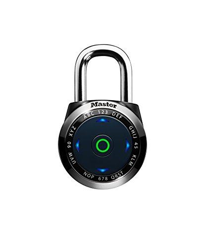 Master Lock 1500eEURDBLK Cadenas électronique eOne à combinaison pour vestiaire, Noir