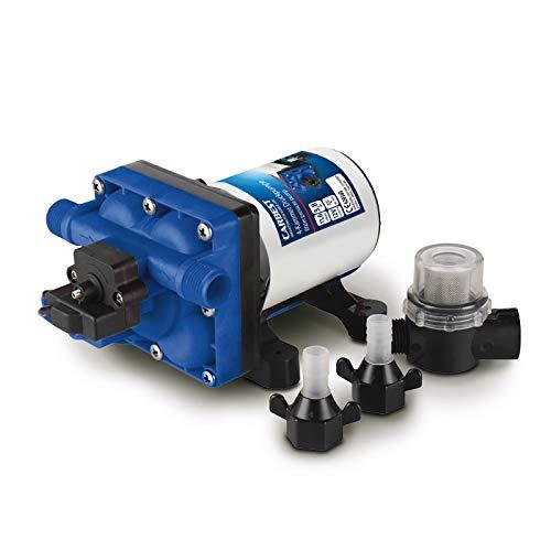 Wasserpumpe 4-Kammer-Druckwasserpumpe 12 V - 3,5 A (max. 7,5 A), 55PSI 3.8 bar
