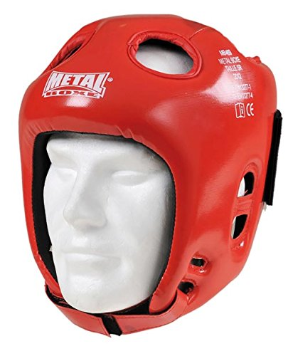 METAL BOXE MB469 - Casco, Rosso (Rosso), Adulto