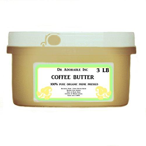 Pure Coffee Bean Butter Anti Aging Moisturizer 48 Oz/3 Lb