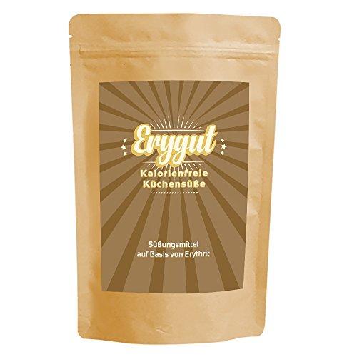 Erygut Bronze 750g | Kalorienfreier brauner Rohrzuckerersatz aus Erythrit | Süßungsmittel zum Süßen von Getränke, Kochen und Backen | Foodtastic Erythritol Gold Light