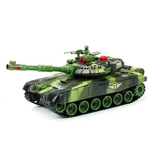 Eternitry Großer Ferngesteuerter Panzer, Ferngesteuerter Panzer 12 Zoll RC Fighting Battle Tank Spielzeug für Kinder Geschenk