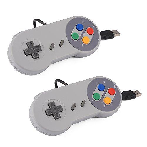 XCSOURCE® USB 2pcs SNES Classic Super Nintendo Regulador