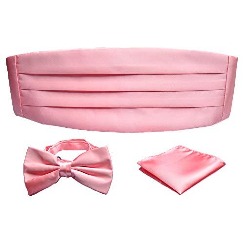 PenSee - Ceinture de smoking - - Uni Homme Ligth Pink