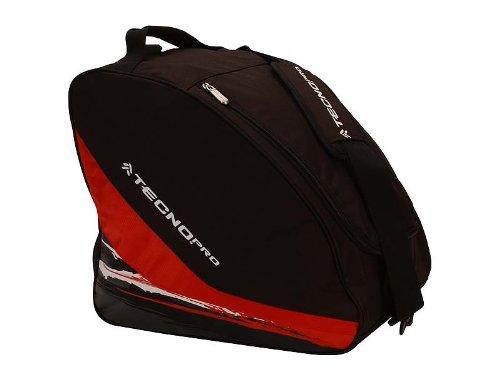 Tecno Pro Equipment Line Sac à chaussures de ski Noir/rouge