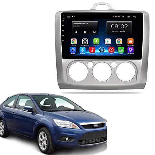 NBVNBV Android 9 Touchscreen Autoradio GPS Navigationsgerät Auto Multimedia System Fit für Ford Focus EXI MT 2 3 Mk2 2005-2011 Karte Aktualisierung Rückfahrkamera,2g dvr