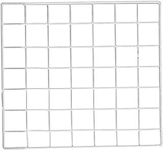 NIKKY HOME Grille de Fer Mural Ins Panneau Photo Suspendu Affichage DIY D/écoration Murale Bo/îte De Rangement Cerf T/ête Note Tableau 65,5 x 6,5 x 61 CM Noir