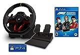 Volante y Pedales PS4 PS5 Inalámbrico [Nuevo Modelo] Licencia Oficial Sony Playstation + Formula 1 2021 - F1 2021 PS4/PS5