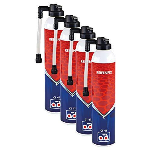 AD Chemie 4X Reifenfix Dichtmittel Ct 41 300ml Spraydose Reifenpanne Reifen Schlauch Pannenspray Pkw Spray Reparatur Reifendichtmittel Pannenset Gel 40213266