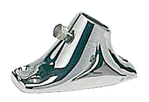Osculati Edelstahl Flaggenstockhalter für Decksmontage - Ø 20/25 mm, Durchmesser:20mm
