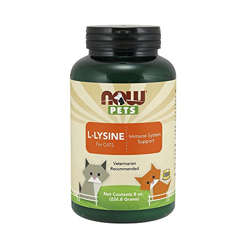 NOW Pet Health L-Lysine Supplement
