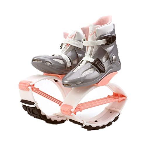 Fitness Jump Shoes Für Erwachsene und Kinder, Bounce Shoe Jumps Rebound Schuhe, Unisex Fitness Jump Running Boots Dance Bounce Shoes Anti-Gravity Bouncing Schuhe,XL (Size 39/41)